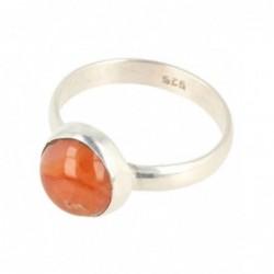 Agaat groen donut 13-15 mm (gekleurd)