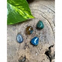 Pyriet op Calciet/Fluoriet AB ruw