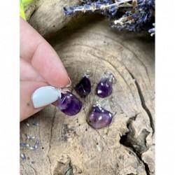 Unakiet piramide 30 mm edelsteen