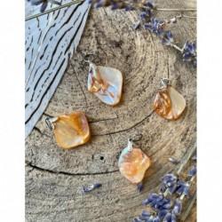 Agaatschijf paars klein 6-10 cm