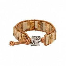 Maansteen regenboog ring zilver bewerkt nr.14 - 18