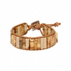Maansteen regenboog ring zilver bewerkt nr.9 - 17